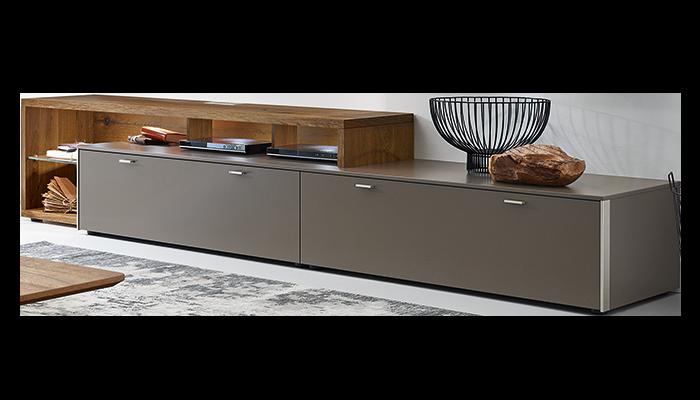 Lowboard & Media Shelf