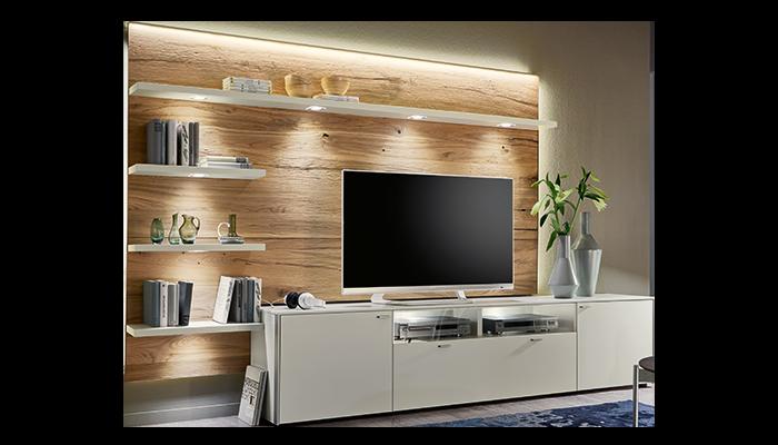 TV Cabinet & Wall Panel