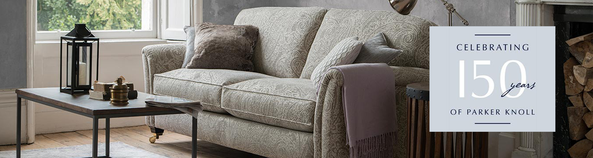 Kh parker knoll brands page banner 150 years