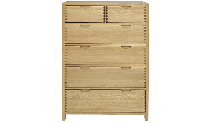 6 Drawer Tall & Wide Chest