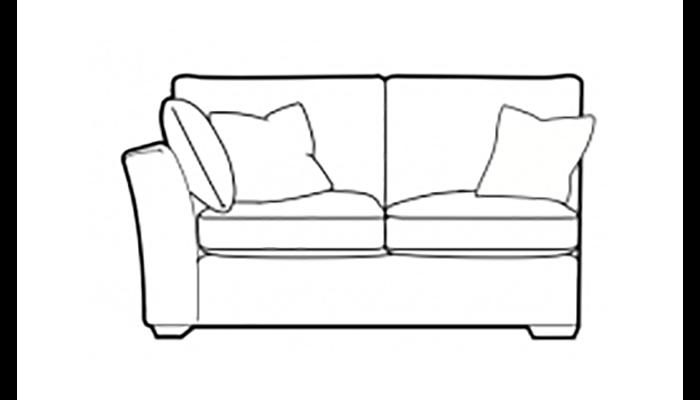 Copact 2 Seater 1 Arm Unit