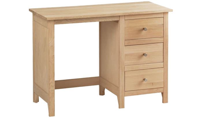 Single Pedestal Dressing Table